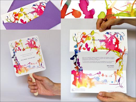 invitacion boda con pai pai el l with como hacer tarjetas de invitacion para boda
